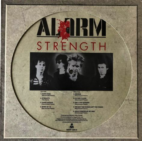 Alarm (The) - Strength (LP) (Picture Disc) (EX-/VG)